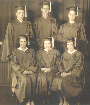 picture of Folsomville graduating class of 1951