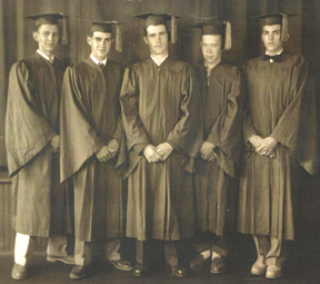 picture of Folsomville graduating class of 1952