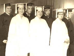 picture of Folsomville graduating class of 1956