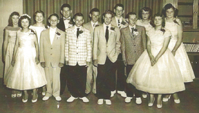picture of Folsomville graduating class of 1958